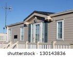 exterior of luxurious modern... | Shutterstock . vector #130143836