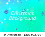 christmas background with... | Shutterstock .eps vector #1301502799