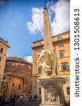 rome  italy   may 2018 ... | Shutterstock . vector #1301508613