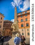 rome  italy   may 2018 ... | Shutterstock . vector #1301508616