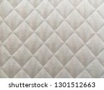 white fabric curtain texture ... | Shutterstock . vector #1301512663