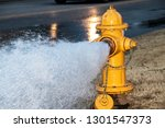 Close Up Of Yellow Fire Hydrant ...