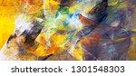 bright artistic splashes.... | Shutterstock . vector #1301548303