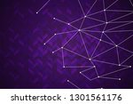 beautiful purple abstract... | Shutterstock . vector #1301561176