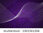 beautiful purple abstract... | Shutterstock . vector #1301561206