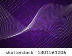 beautiful purple abstract... | Shutterstock . vector #1301561206
