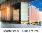 freight transportation the...   Shutterstock . vector #1301575396