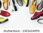 stylish female spring or autumn ... | Shutterstock . vector #1301614093