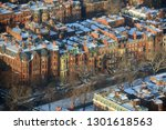 aerial view of back bay... | Shutterstock . vector #1301618563