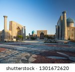 registan square in the city of...   Shutterstock . vector #1301672620