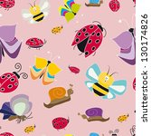 colorful pattern with... | Shutterstock .eps vector #130174826