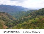 scene of forest on the moutains ... | Shutterstock . vector #1301760679