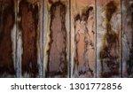 brown wooden texture flooring... | Shutterstock . vector #1301772856