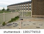 exterior of an abandoned and...   Shutterstock . vector #1301776513