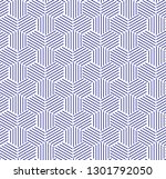 abstract geometric pattern... | Shutterstock .eps vector #1301792050