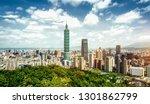 Beautiful Panoramic Of Taipei...