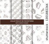 collection of hand drawn... | Shutterstock .eps vector #1301882266
