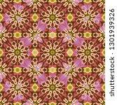 seamless background oriental... | Shutterstock . vector #1301939326