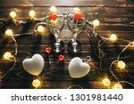 Romantic Wine Glasses With...