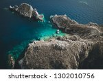 aerial view of island mala... | Shutterstock . vector #1302010756