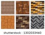 texture set. cartoon wood...