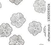 dark orange vector seamless...   Shutterstock .eps vector #1302053026