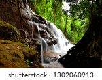 Beautiful Waterfall Landscape...