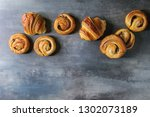 Variety Of Homemade Puff Pastry ...