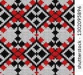 knitting seamless ornament in...   Shutterstock .eps vector #1302095896