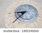"John ""Chuck"" Erreca Northbound Rest Area sundial compass"