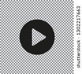 flat video icon
