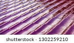 metal roof in dew in the...   Shutterstock . vector #1302259210