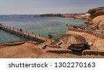sharm el sheik beach            ... | Shutterstock . vector #1302270163