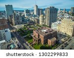 aerial wiew grace cathedral... | Shutterstock . vector #1302299833