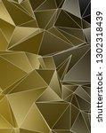 background triangulated texture.... | Shutterstock . vector #1302318439