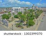 cienfuegos  cuba   february 24  ... | Shutterstock . vector #1302399370