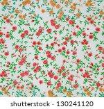 floral seamless pattern   Shutterstock . vector #130241120