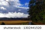 dramatic late autumn cloudscape | Shutterstock . vector #1302441520