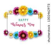 vector illustration of women's... | Shutterstock .eps vector #1302462973