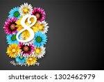vector illustration of women's... | Shutterstock .eps vector #1302462979
