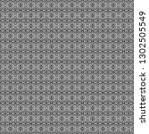seamless black and white pixel... | Shutterstock . vector #1302505549