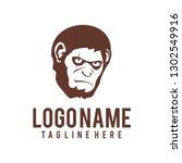 logo bad ape | Shutterstock .eps vector #1302549916