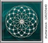 seed of life   tube torus  ...   Shutterstock . vector #130255640