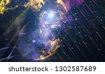 abstract space background  ... | Shutterstock . vector #1302587689