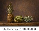 dark still life with fresh... | Shutterstock . vector #1302605050