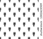 Egyptian Vase Pattern Seamless...