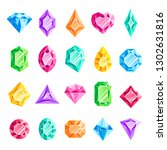jewels gems. jewelry diamond ... | Shutterstock .eps vector #1302631816