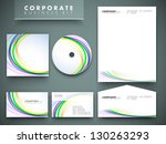 professional corporate identity ... | Shutterstock .eps vector #130263293