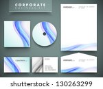 professional corporate identity ... | Shutterstock .eps vector #130263299