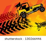 Off Road Buggy Abstract...